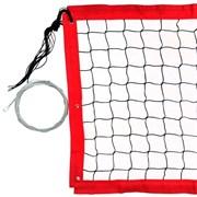 Сетка для пляжного волейбола FS№15 8,5х1м черная