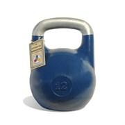 Гиря чемпионская Titan 12 кг (Синяя)