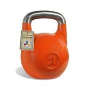 Гиря чемпионская Titan 28 кг (Оранжевая)