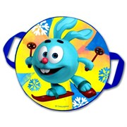 "Санки-Ледянки № 04 ""крош на лыжах"" d-45 см"