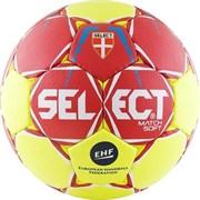 Мяч гандбольный Select Match Soft р.1 арт.844908-335 Lille