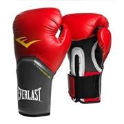Перчатки боксерские Everlast Pro Style Elite 2108E 8 унций к/з красные