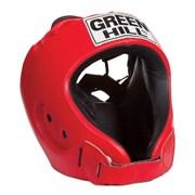 Шлем открытый Green Hill Alfa HGA-4014 красный р.M