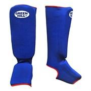 Защита голень-стопа Green Hill SIC-6131 синяя р.XL