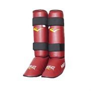 Защита голень-стопа Everlast Hsif RF7150 красный р.S