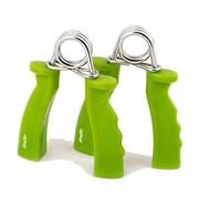 Эспандер кистевой пружинный Starfit ES-301 пара, жесткая ручка, зеленый
