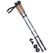 Палки для скандинавской ходьбы Berger Forester 67-135 см 3-секционные, серый/чёрный