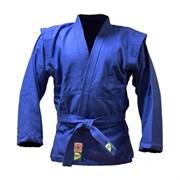Куртка для самбо Green Hill JS-302 (Рост 4/170, синий, р.48)