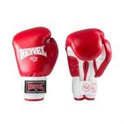 Перчатки боксерские Reyvel RV-101 8 унций к/з красны