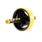 Ролик для пресса Starfit RL-105 черный/желтый