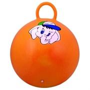 """Мяч-Попрыгун Starfit GB-401""""Медвежонок"""" 45 см с ручкой, оранжевый Starfit"""