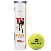 Мяч теннисный Wilson Tour Practice арт.WRT114500 4 шт.
