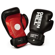Лапы-Перчатки боксерские Green Hill Solar арт.CMS-5014 черно-красно-белые