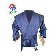 Куртка для самбо Green Hill  JS-303 (Рост 5/150, синий, р.40)