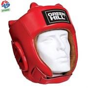 Шлем Green Hilll Five Star HGF-4013-XL-RD р.XL кожа, красный