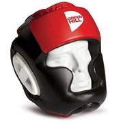 Шлем Green Hilll Poise HGP-9015-XL-RD р.XL черно-красный