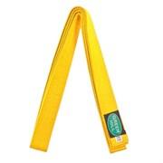 Пояс для карате желтый Green Hill KBO-1014 (Желтый р.280)