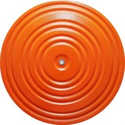 Диск здоровья арт.MR-D-02 оранжево/черный