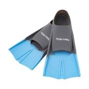 Ласты тренировочные Colton CF-01 р.33-35 серый/голубой