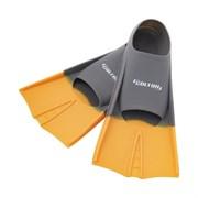 Ласты тренировочные Colton CF-01 р.36-38 серый/оранжевый