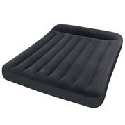 """Двуспальный надувной матрас Intex 64150 """"pillow Rest Classic Bed"""" + насос (203х152х25см)"""