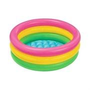 """Надувной бассейн для детей Intex 57422NP """"sunset Glow Pool"""" 147х33см, 2+"""