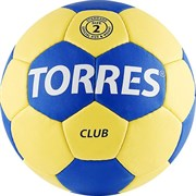 Мяч гандбольный Torres Club арт.H30042 р.2