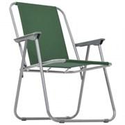 Кресло складное с подлокотниками CK-305, зеленый