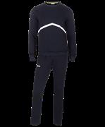 Тренировочный костюм JCS-4201-061, хлопок, черный/белый