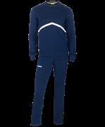 Тренировочный костюм детский JCS-4201-091, хлопок, темно-синий/белый