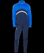 Костюм тренировочный детский JPS-4301-971, полиэстер, темно-синий/синий/белый