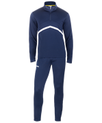 Костюм тренировочный JPS-4301-091, полиэстер, темно-синий/белый