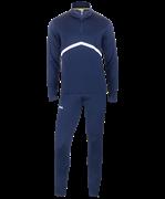 Костюм тренировочный детский JPS-4301-091, полиэстер, темно-синий/белый