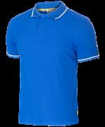 Поло JPP-5101-071, синий/белый