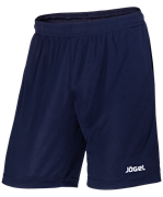Шорты детские тренировочные JTS-1140-091, полиэстер, темно-синий/белый