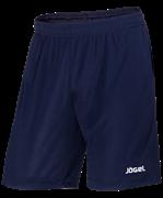 Шорты тренировочные JTS-1140-091, полиэстер, темно-синий/белый