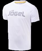 Футболка тренировочная JTT-1041-018, полиэстер, белый/серый