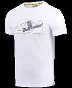 Футболка JCT-5202-011, хлопок, белый/белый