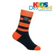 Водонепроницаемые детские носки DexShell Waterproof Children Socks M (18-20 см) оранжевые
