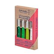 Набор ножей Opinel Les Essentiels Primavera, нержавеющая сталь, (4 шт./уп.), 001709