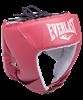 Шлем открытый USA Boxing 610200U, M, кожа, красный - фото 44305
