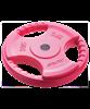 Диск обрезиненный BB-201, d=26 мм, красный, 5 кг - фото 44652