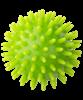 Мяч массажный GB-601 7 см, зеленый - фото 44748