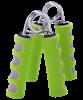 Эспандер кистевой STAR FIT ES-304 пружинный, эргономичный, мягкая ручка, зеленый/серый (2шт.) - фото 44811