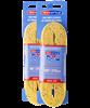 Шнурки для коньков Tex Style с пропиткой желтые 2,74 м (пара) W917 1/36 - фото 44948