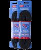 Шнурки для коньков Tex Style с пропиткой черные 2,74 м (пара) W918 1/36 - фото 44949