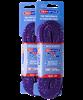 Шнурки для коньков Tex Style с пропиткой фиолетовые 2,44 м (пара) W923 1/36 - фото 44950