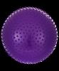 Мяч гимнастический массажный GB-301 75 см, антивзрыв, фиолетовый - фото 45334