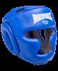 Шлем закрытый RV-301, кожзам, синий - фото 45455
