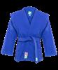 Куртка для самбо JS-302, синяя, р.3/160 - фото 46068